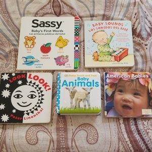 Other - Bundle of 5 Baby/Toddler Books